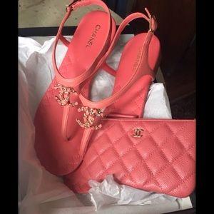 Chanel CC Sandals